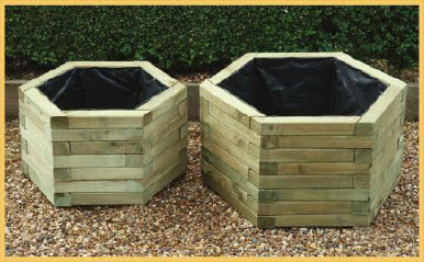 Hexagonal Planter